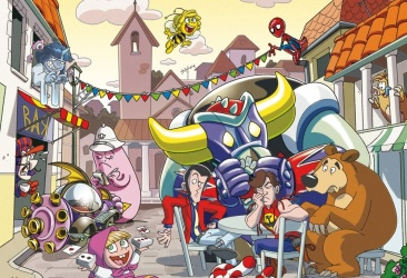 Cartoon Village