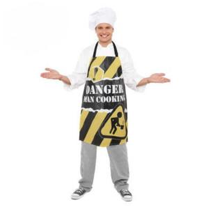 Danger Man cooking