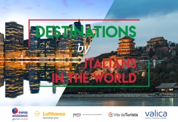 Destinations by italians in the world
