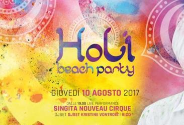 Singita Holi Beach Party 100817
